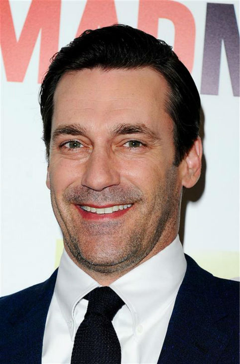 Jon Hamm &#40;Don Draper&#41; appears at the season 7 premiere of AMC&#39;s &#39;Mad Men&#39; in Hollywood, California on April 2, 2014. <span class=meta>(Daniel Robertson &#47; Startraksphoto.com)</span>