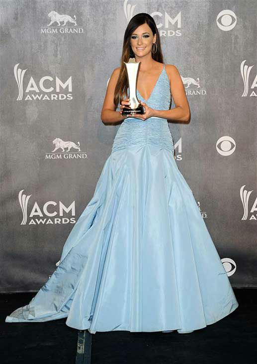 Kacey Musgraves appears backstage at the 49th annual Academy of Country Music Awards in Las Vegas on April 6, 2014. She took home an award for Album of the Year for &#39;Same Trailer Different Park.&#39; <span class=meta>(Sara De Boer &#47; startraksphoto.com)</span>