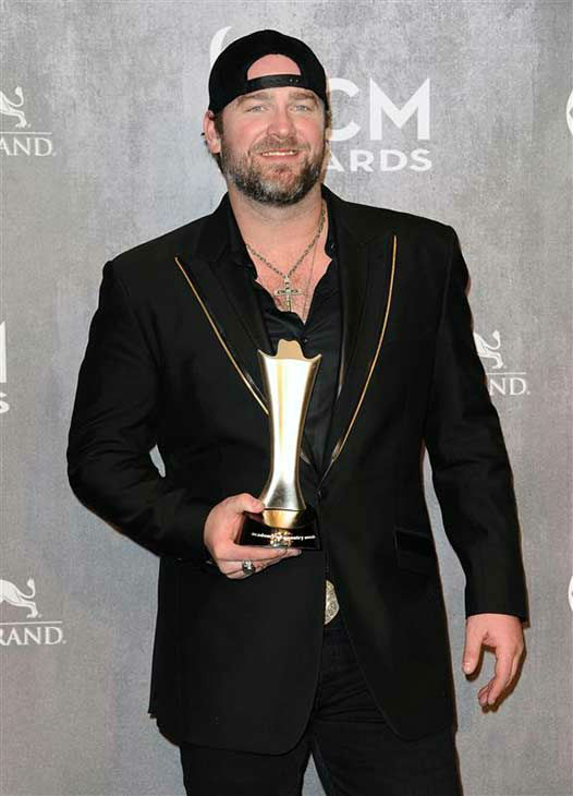 Lee Brice appears backstage at the 49th annual Academy of Country Music Awards in Las Vegas on April 6, 2014. He took home an award for Song of the Year for &#39;I Drive Your Truck.&#39; <span class=meta>(Sara De Boer &#47; startraksphoto.com)</span>