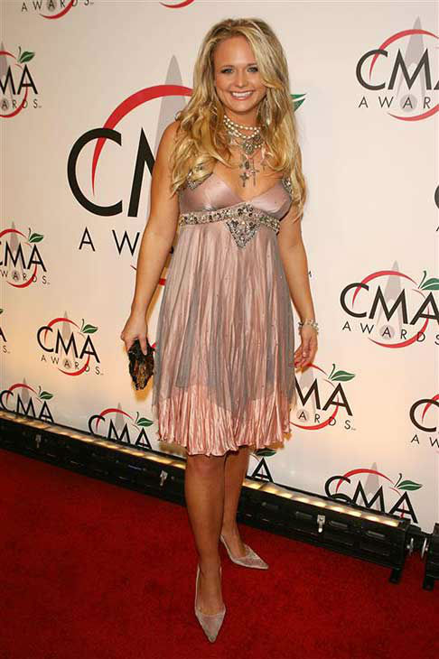 "<div class=""meta image-caption""><div class=""origin-logo origin-image ""><span></span></div><span class=""caption-text"">Miranda Lambert appears at the 39th annual CMA Awards in New York City on Nov. 15, 2005.  (Dave Allocca / startraksphoto.com)</span></div>"