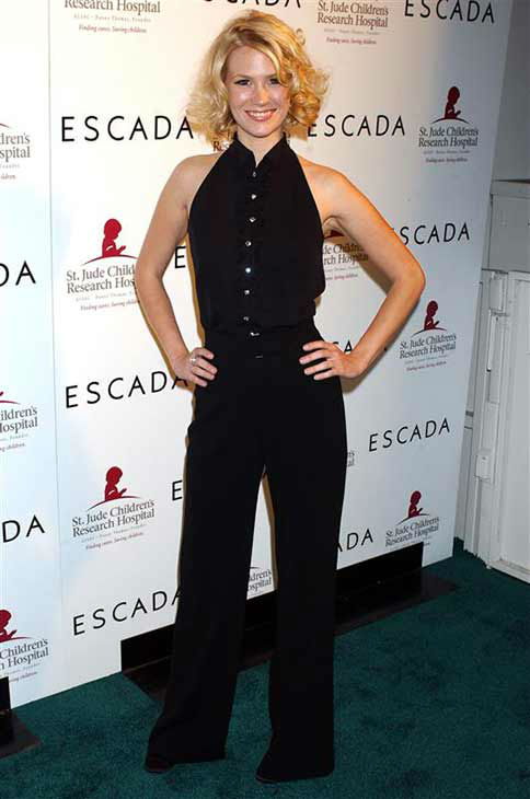 January Jones appears at the Escada and Emily Proctor benefit for St. Jude in Los Angeles on Nov. 17, 2005.  <span class=meta>(Albert L. Ortega &#47; startraksphoto.com)</span>