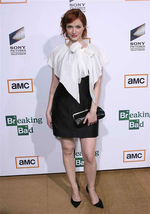 Christina Hendricks appears at a &#39;Breaking Bad&#39; screening in Los Angeles on Jan. 15, 2008. <span class=meta>(Andy Fossum &#47; startraksphoto.com)</span>