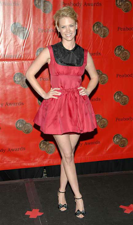 "<div class=""meta ""><span class=""caption-text "">January Jones appears at the 67th annual Peabody Awards in New York City on June 16, 2008.  (Paul Hawthorne / startraksphoto.com)</span></div>"