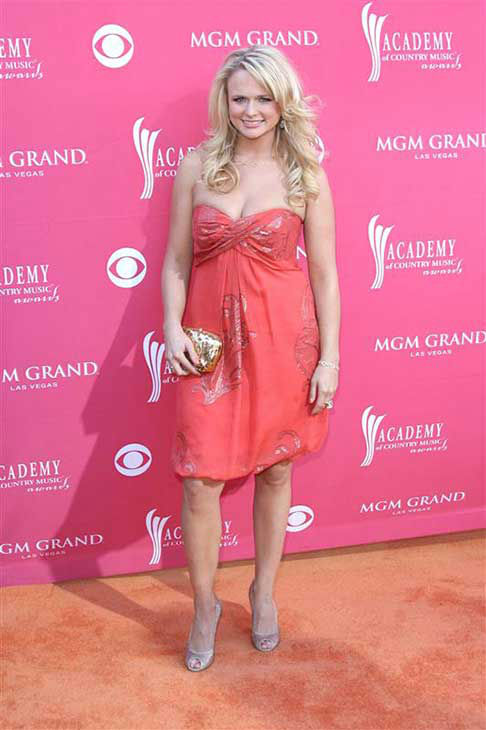 Miranda Lambert appears at the 44th annual Academy of Country Music &#40;ACM&#41; Awards in Las Vegas on April 5, 2009. <span class=meta>(Jen Lowery &#47; startraksphoto.com)</span>