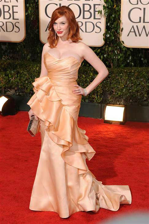 Christina Hendricks appears at the 67th annual Golden Globe Awards in Los Angeles on Jan. 17, 2010.  <span class=meta>(Nick Sadler &#47; startraksphoto.com)</span>