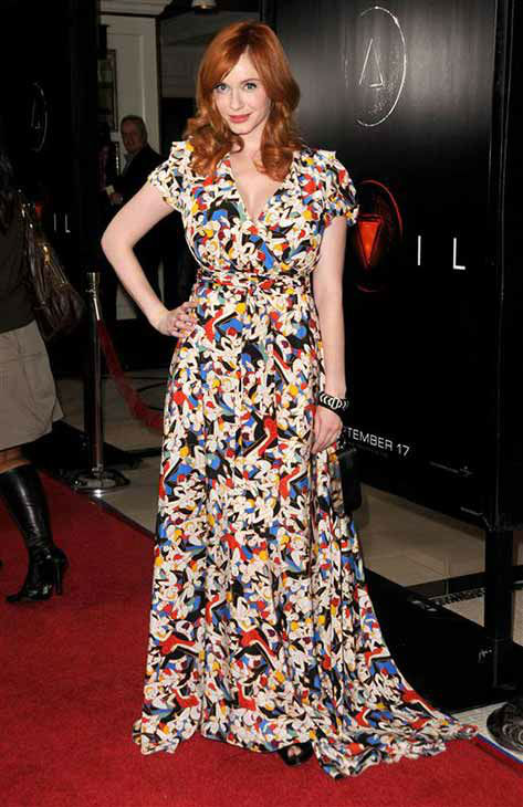 Christina Hendricks appears at the &#39;Devil&#39; premiere in Los Angeles on Sept. 15, 2010.  <span class=meta>(Sara De Boer &#47; startraksphoto.com)</span>