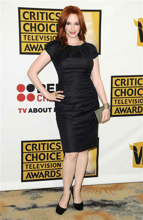 Christina Hendricks appears at the Critics Choice Television Awards in Los Angeles on June 20, 2011.  <span class=meta>(Sara De Boer &#47; startraksphoto.com)</span>
