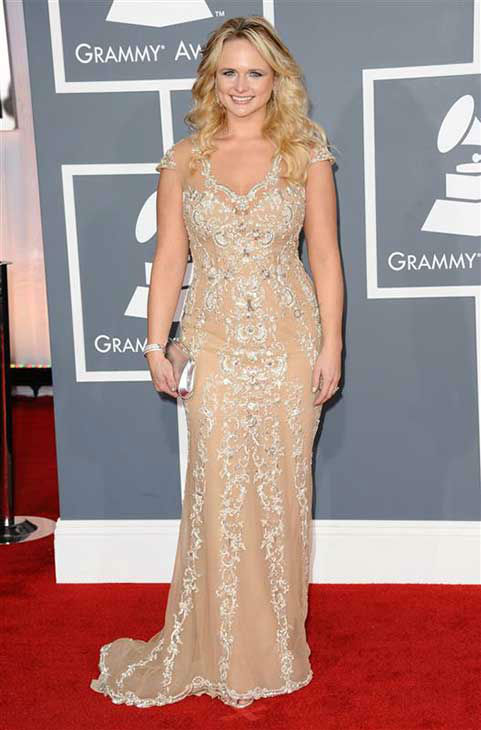 Miranda Lambert appears at the 54th annual Grammy Awards in Los Angeles on Feb. 12, 2012. <span class=meta>(Kyle Rover &#47; startraksphoto.com)</span>