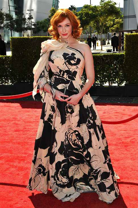 "<div class=""meta image-caption""><div class=""origin-logo origin-image ""><span></span></div><span class=""caption-text"">Christina Hendricks appears at the 2012 Primetime Creative Arts Emmys in Los Angeles on Sept. 15, 2012.  (Tony DiMaio / startraksphoto.com)</span></div>"