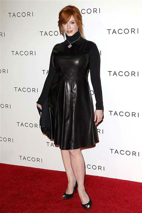Christina Hendricks appears at the Tacori Fashion launch party in Los Angeles on Oct. 9, 2012.  <span class=meta>(. Norman Scott &#47; startraksphoto.com)</span>