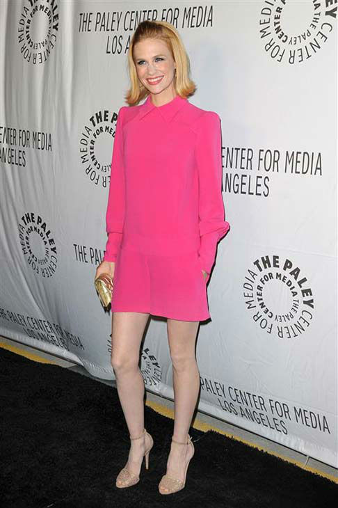 January Jones appears at the Paley Center L.A. Benefit in Los Angeles on Oct. 22, 2012.