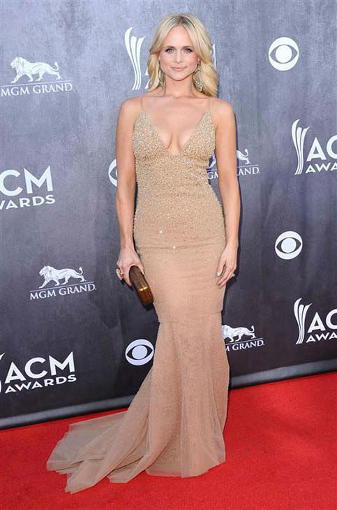 "<div class=""meta image-caption""><div class=""origin-logo origin-image ""><span></span></div><span class=""caption-text"">Miranda Lambert appears at the 49th annual Academy of Country Music (ACM) Awards in Las Vegas on April 6, 2014.  (Sara De Boer / startraksphoto.com)</span></div>"