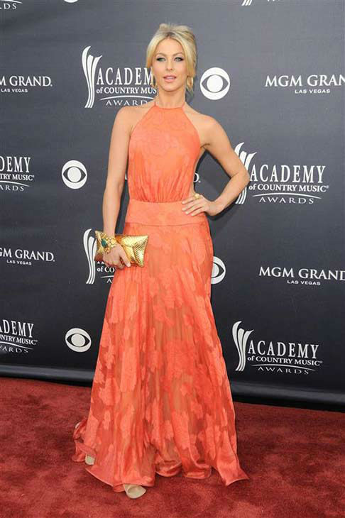 "<div class=""meta ""><span class=""caption-text "">Julianne Hough appears at the 46th annual Academy of Country Music (ACM) Awards in Las Vegas on April 3, 2011. (Kyle Rover / startraksphoto.com)</span></div>"