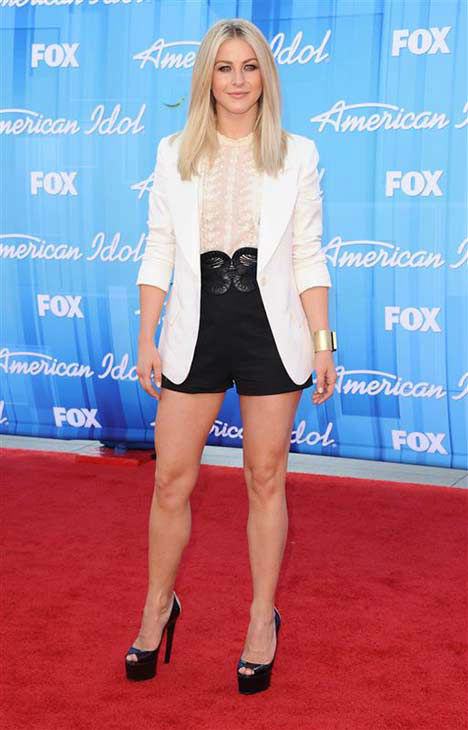 "<div class=""meta ""><span class=""caption-text "">Julianne Hough appears at the 'American Idol' season 11 season finale in Los Angeles on May 23, 2012. (Sara De Boer / startraksphoto.com)</span></div>"