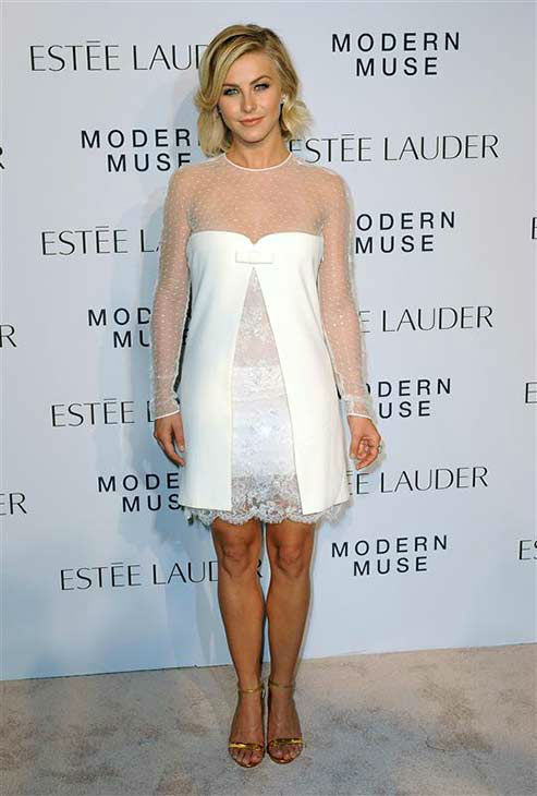 "<div class=""meta ""><span class=""caption-text "">Julianne Hough appears at the Estee Lauder 'Modern Muse' fragrance launch party in New York City on Sept. 12, 2013. (Humberto Carreno / startraksphoto.com)</span></div>"