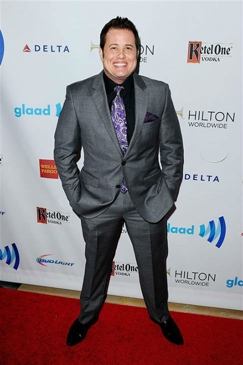 "<div class=""meta image-caption""><div class=""origin-logo origin-image ""><span></span></div><span class=""caption-text"">Chaz Bono appears at the 25th Annual GLAAD Media Awards in Beverly Hills, California, on April 12, 2014.  (Daniel Robertson/startraksphoto.com)</span></div>"
