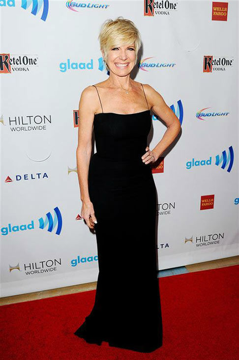 Debby Boone appears at the 25th Annual GLAAD Media Awards in Beverly Hills, California, on April 12, 2014. <span class=meta>(Daniel Robertson&#47;startraksphoto.com)</span>