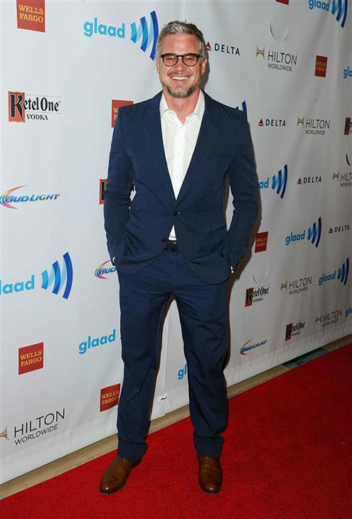 Eric Dane appears at the 25th Annual GLAAD Media Awards in Beverly Hills, California, on April 12, 2014. <span class=meta>(Daniel Robertson&#47;startraksphoto.com)</span>