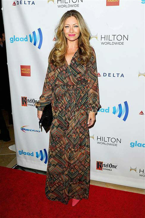 Rebecca Gayheart appears at the 25th Annual GLAAD Media Awards in Beverly Hills, California, on April 12, 2014. <span class=meta>(Daniel Robertson&#47;startraksphoto.com)</span>