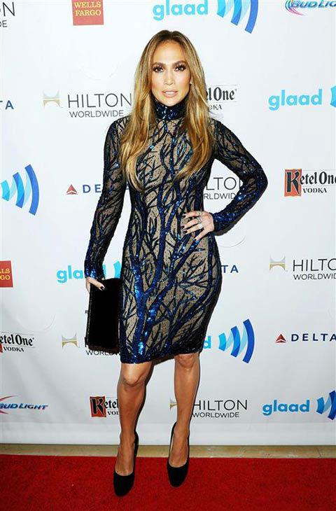 "<div class=""meta image-caption""><div class=""origin-logo origin-image ""><span></span></div><span class=""caption-text"">Jennifer Lopez appears at the 25th Annual GLAAD Media Awards in Beverly Hills, California, on April 12, 2014. (Daniel Robertson/startraksphoto.com)</span></div>"