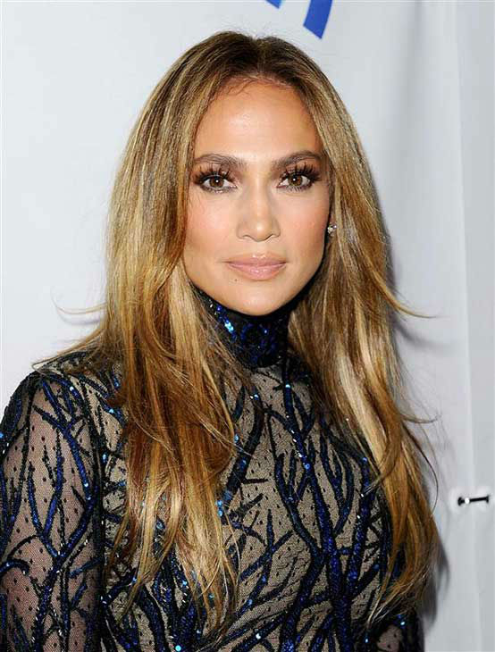 Jennifer Lopez appears at the 25th Annual GLAAD Media Awards in Beverly Hills, California, on April 12, 2014. <span class=meta>(Daniel Robertson&#47;startraksphoto.com)</span>