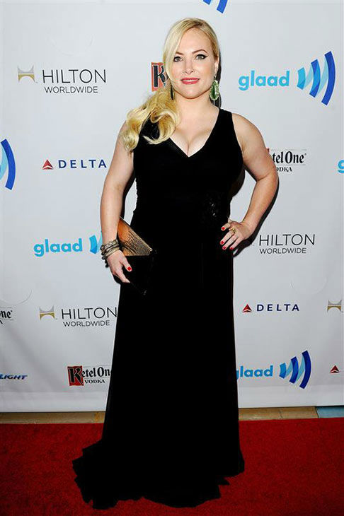 Meghan McCain appears at the 25th Annual GLAAD Media Awards in Beverly Hills, California, on April 12, 2014. <span class=meta>(Daniel Robertson&#47;startraksphoto.com)</span>