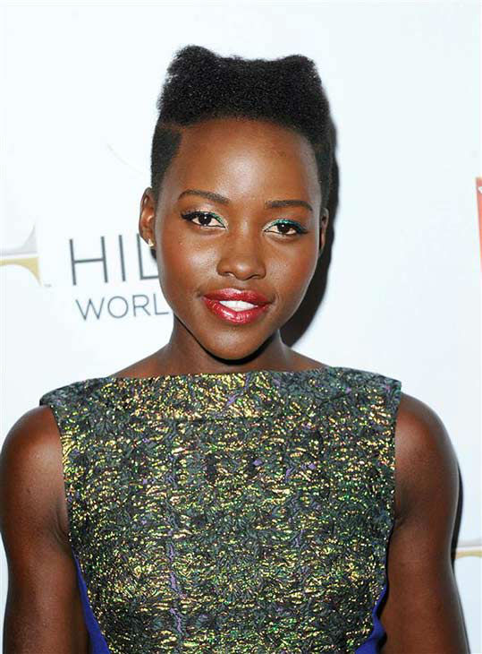 Lupita Nyong&#39;o appears at the 25th Annual GLAAD Media Awards in Beverly Hills, California, on April 12, 2014. <span class=meta>(Daniel Robertson&#47;startraksphoto.com)</span>