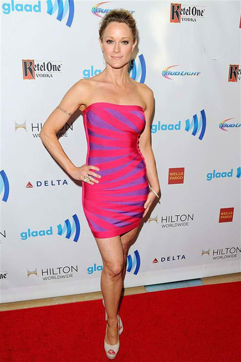 Teri Polo appears at the 25th Annual GLAAD Media Awards in Beverly Hills, California, on April 12, 2014.  <span class=meta>(Daniel Robertson&#47;startraksphoto.com)</span>