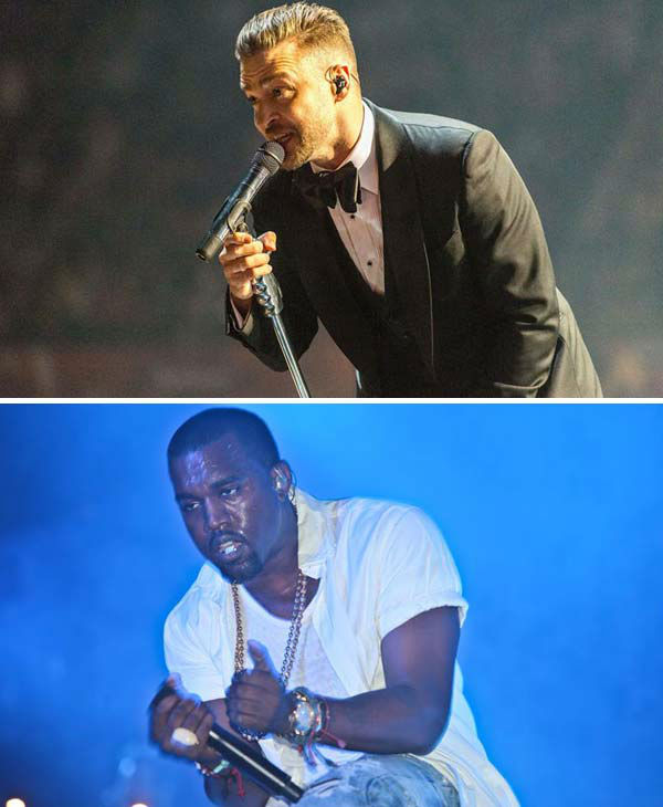 "<div class=""meta ""><span class=""caption-text "">The potential for special guests, like Justin Timberlake and Kanye West.   Both Beyonce and Jay-Z have collaborated with many of the same musicians over the years, ranging from Justin Timberlake to Kanye West to Pharrell Williams and more. The potential of their friends in the music industry joining them for surprise appearances on stage is a major draw, especially in major markets such as Los Angeles and New York City. With both having several past collaborations with Timberlake, West and Williams in the past, their tour could be quite the musical mash-up!   (Pictured: Top - Justin Timberlake performs in London for his '20/20 Experience' world tour on March 30, 2014. Bottom - Kanye West appears at the Austin City Limits Music Festival on Sept. 16, 2011.)  (Jonathan Pow / Abaca / Mark C. Austin / startraksphoto.com)</span></div>"