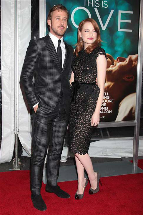 Hey girl, do you remember the time Emma Stone looked adorable with Ryan Gosling at the premiere of &#39;Crazy Stupid Love&#39; in New York City on July 19, 2011? <span class=meta>(Photo&#47;Dave Allocca)</span>