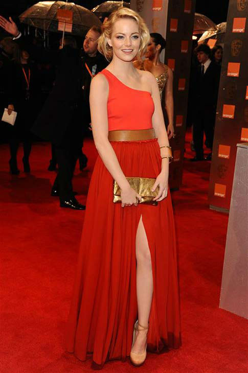 "<div class=""meta ""><span class=""caption-text "">The shorter hair don't care adorable look at the 2011 Orange British Academy Film Awards on Feb. 13, 2011.  (MICHAEL BOWLES /startraksphoto.com)</span></div>"
