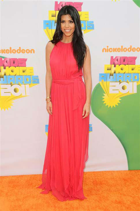 Kourtney Kardashian appears at the 2011 Kids&#39; Choice Awards in Los Angeles on April 2, 2011. <span class=meta>(Kyle Rover &#47; startraksphoto.com)</span>
