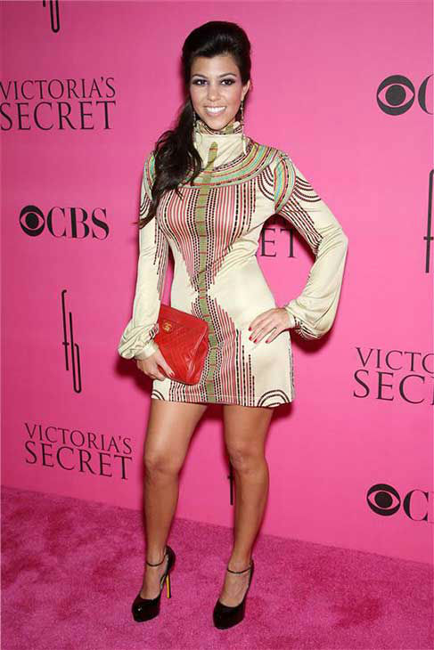 Kourtney Kardashian appears at the 2008 Victoria&#39;s Secret Fashion Show in Miami on Nov. 16, 2008. <span class=meta>(Marion Curtis &#47; startraksphoto.com)</span>