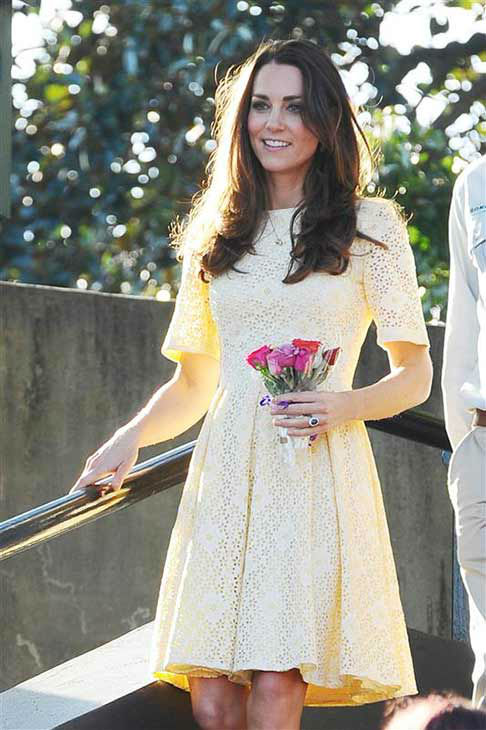 "<div class=""meta image-caption""><div class=""origin-logo origin-image ""><span></span></div><span class=""caption-text"">Kate Middleton, aka Catherine, Duchess of Cambridge, appears at the Taronga Zoo in Sydney, Australia on April 20, 2014. (Paul McConnell / Startraksphoto.com)</span></div>"