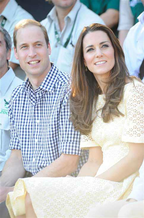 "<div class=""meta ""><span class=""caption-text "">Kate Middleton, aka Catherine, Duchess of Cambridge, and husband Prince William appear at the Taronga Zoo in Sydney, Australia on April 20, 2014. (Paul McConnell / Startraksphoto.com)</span></div>"
