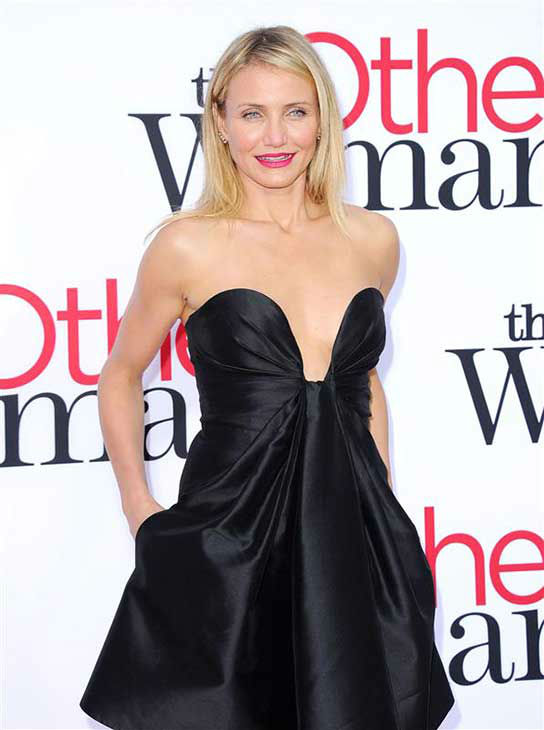 Cameron Diaz appears at the Los Angeles premiere of &#39;The Other Woman&#39; on April 21, 2014. <span class=meta>(Hollywood Press &#47; startraksphoto.com)</span>