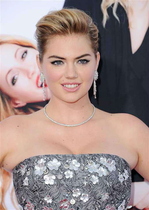 Kate Upton appears at the Los Angeles premiere of &#39;The Other Woman&#39; on April 21, 2014. <span class=meta>(Hollywood Press &#47; startraksphoto.com)</span>