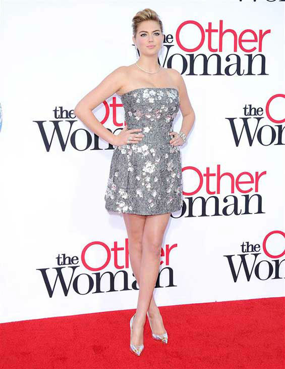 "<div class=""meta ""><span class=""caption-text "">Kate Upton appears at the Los Angeles premiere of 'The Other Woman' on April 21, 2014. (Hollywood Press / startraksphoto.com)</span></div>"