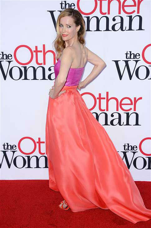 Leslie Mann appears at the Los Angeles premiere of &#39;The Other Woman&#39; on April 21, 2014. <span class=meta>(Lionel Hahn &#47; startraksphoto.com)</span>
