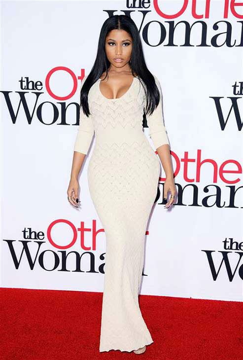 "<div class=""meta image-caption""><div class=""origin-logo origin-image ""><span></span></div><span class=""caption-text"">Nicki Minaj appears at the Los Angeles premiere of 'The Other Woman' on April 21, 2014. (Lionel Hahn / startraksphoto.com)</span></div>"