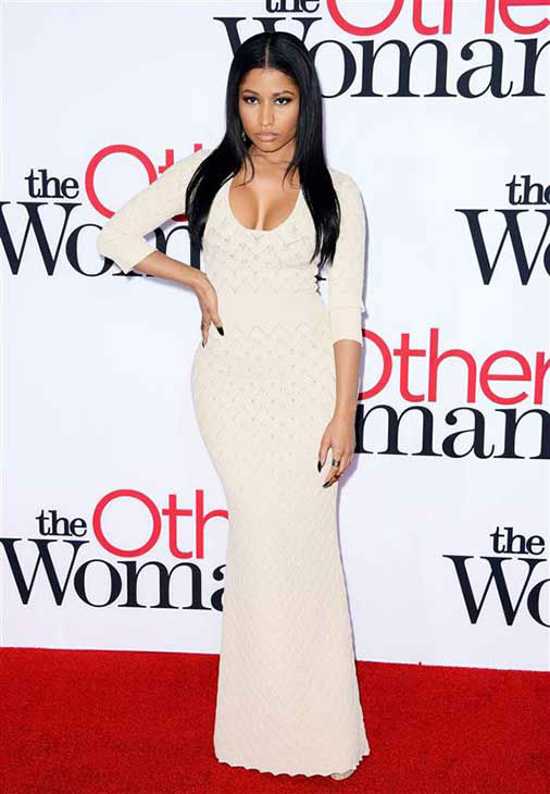 "<div class=""meta ""><span class=""caption-text "">Nicki Minaj appears at the Los Angeles premiere of 'The Other Woman' on April 21, 2014. (Lionel Hahn / startraksphoto.com)</span></div>"