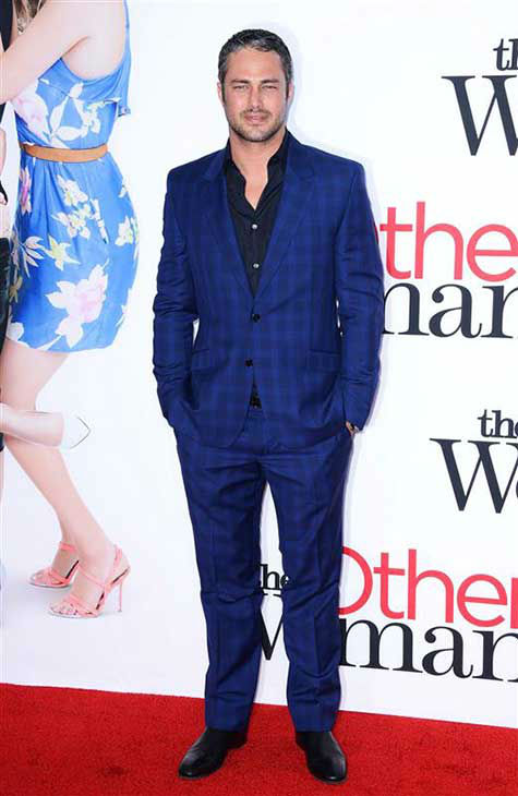 "<div class=""meta image-caption""><div class=""origin-logo origin-image ""><span></span></div><span class=""caption-text"">Taylor Kinney appears at the Los Angeles premiere of 'The Other Woman' on April 21, 2014. (Lionel Hahn / startraksphoto.com)</span></div>"