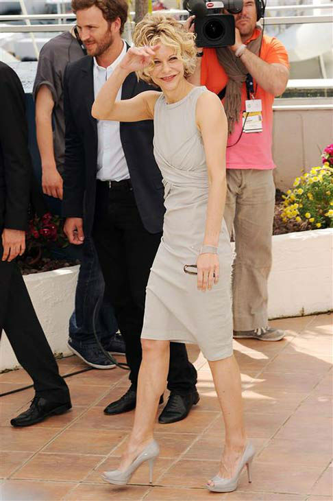 Meg Ryan appears at the Cannes Film Festival in France on May 16, 2010. <span class=meta>(Nick Sadler &#47; startraksphoto.com)</span>