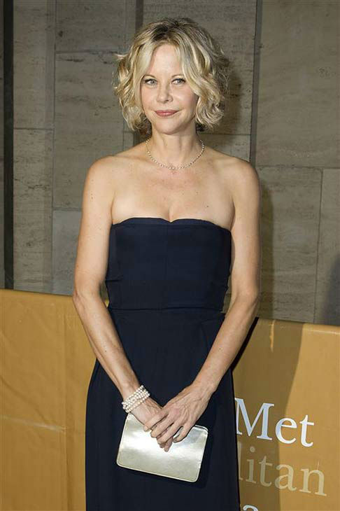 Meg Ryan appears at the Metropolitan Opera Season opening in New York City on Sept. 27, 2010. <span class=meta>(Amanda Schwab &#47; startraksphoto.com)</span>
