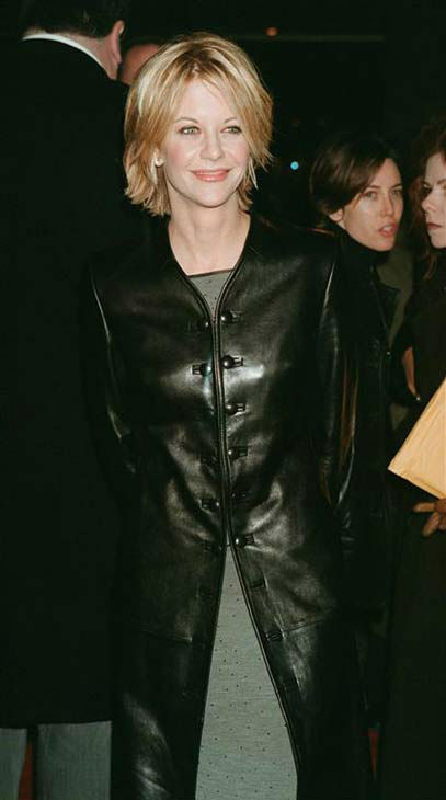 "<div class=""meta ""><span class=""caption-text "">Meg Ryan appears at the premiere of 'You've Got Mail' in New York City on Jan. 17, 1999. (Startraks Photo / startraksphoto.com)</span></div>"