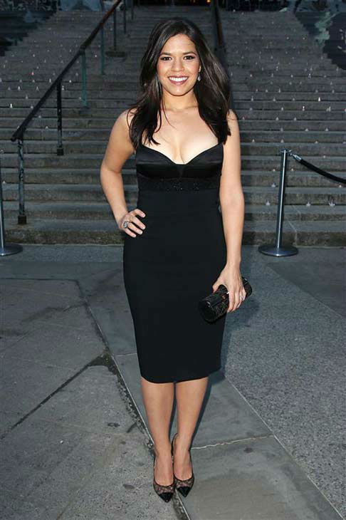 America Ferrera appears at a Vanity Fair party celebrating the 2014 Tribeca Film Festival in New York City on April 23, 2014. <span class=meta>(Kristina Bumphrey &#47; startraksphoto.com)</span>