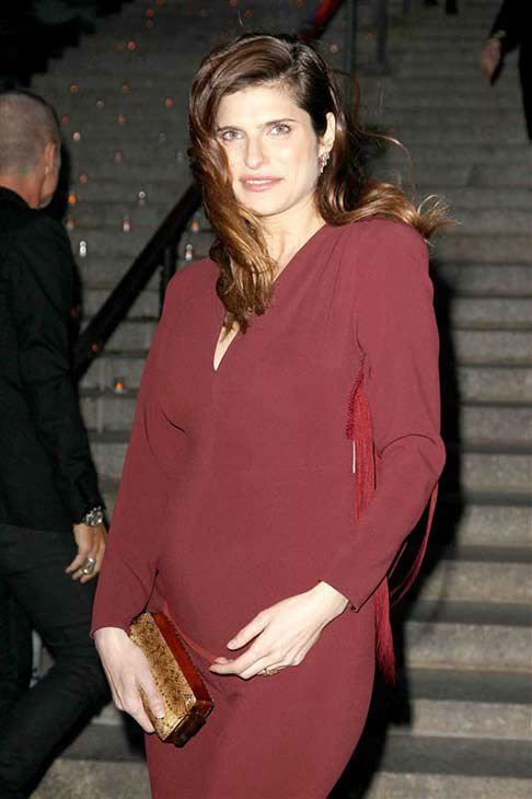 Lake Bell appears at a Vanity Fair party celebrating the 2014 Tribeca Film Festival in New York City on April 23, 2014. <span class=meta>(Kristina Bumphrey &#47; startraksphoto.com)</span>