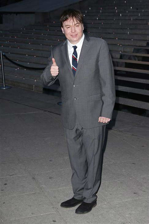 Mike Myers appears at a Vanity Fair party celebrating the 2014 Tribeca Film Festival in New York City on April 23, 2014. <span class=meta>(Kristina Bumphrey &#47; startraksphoto.com)</span>