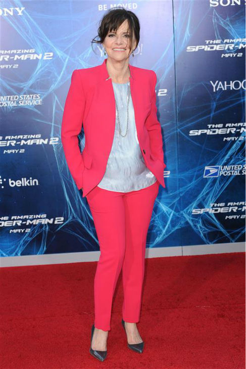 Sally Field appears at the premiere of &#39;The Amazing Spider-Man 2&#39; in New York on April 24, 2014. She plays Peter Parker&#39;s Aunt May. <span class=meta>(Humberto Carreno &#47; Startraksphoto.com)</span>