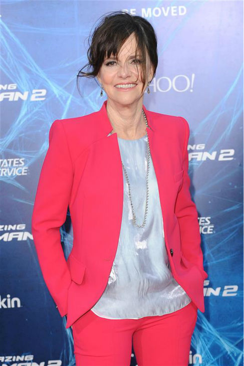 "<div class=""meta image-caption""><div class=""origin-logo origin-image ""><span></span></div><span class=""caption-text"">Sally Field appears at the premiere of 'The Amazing Spider-Man 2' in New York on April 24, 2014. She plays Peter Parker's Aunt May. (Humberto Carreno / Startraksphoto.com)</span></div>"